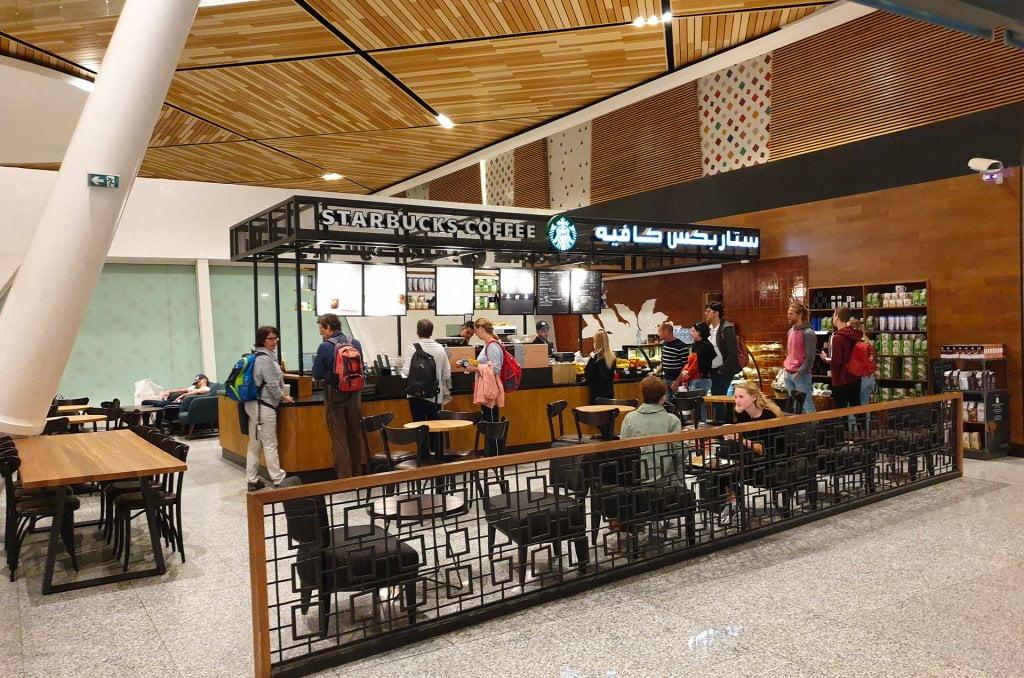 Starbucks coffee, caramel Macchiato, américano et café