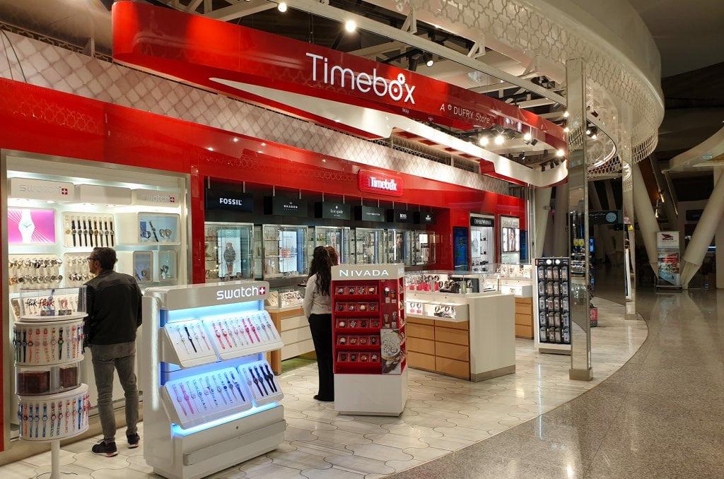 Achat de montre chez Timebox
